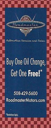 Roadmaster_Oil change